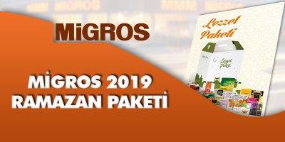 Migros Ramazan Paketi 2019   Migros Ramazan Kolisi 2019