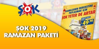 Şok Ramazan Kolisi 2019  Şok Ramazan Paketi 2019