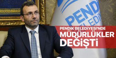 Ahmet Cin, Belediyede ilk revizyonu müdürlüklerde yaptı