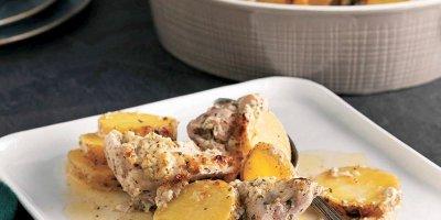 Gelinim Mutfakta Yoğurt soslu patatesli tavuk külbastı nasıl yapılır?