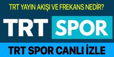 Trt Spor canlı izle | Trt Spor canlı yayın | Trt Spor yayın akışı