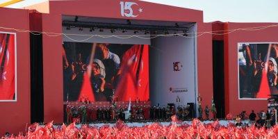 Başkan Erdoğan, 15 Temmuz etkinliği için Atatürk Havalimanı'na indi!