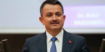 Tarım ve Orman Bakanı Bekir Pakdemirli açıkladı: 1.9 milyar lira yolda!