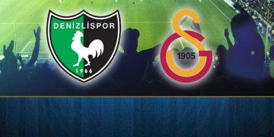 Denizlispor - Galatasaray maçı canlı anlatım! SON DURUM 0-0
