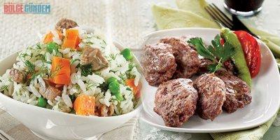 Gelinim Mutfakta Sebzeli Pilav ve anne köftesi nasıl yapılır?