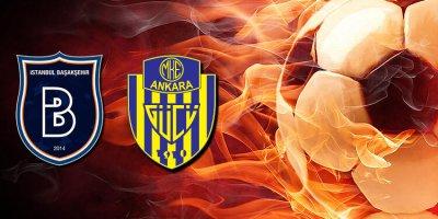 Başakşehir attığı gollerle Ankaragücü'nü mağlup etti