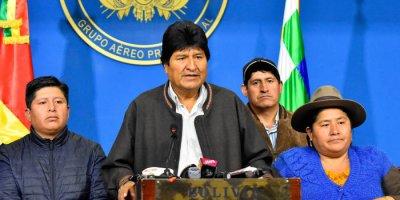 Bolivya'da darbe girişimi: Devlet Başkanı Morales'in istifası istendi!