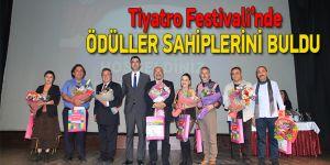 Türkiye Üniversiteler Arası Tiyatro Festivali'nde ödüller sahiplerini buldu