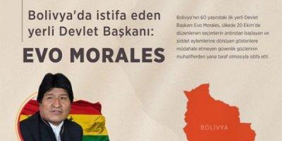 Evo Morales Meksika'ya sığındı