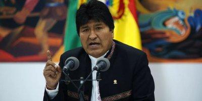 Baskı nedeniyle istifa eden Evo Morales'ten darbe açıklaması!