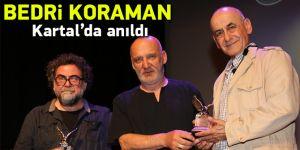 Türkiye'nin ünlü karikatüristi Bedri Koraman Kartal'da anıldı