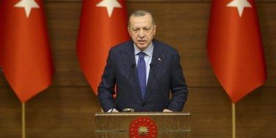 Erdoğan: 81 ilde 100 bin konut inşasını başlatıyoruz
