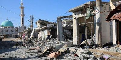 Esed rejimi İdlib'i vurdu: 12 ölü,14 yaralı