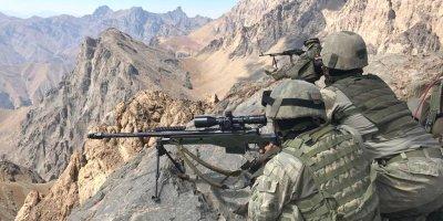 Mehmetçik göz açtırmıyor: 2 terörist etkisiz