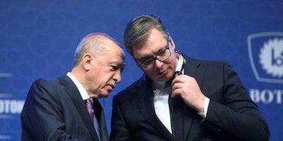 Cumhurbaşkanı Erdoğan, Sırbistan Cumhurbaşkanı Vucic görüşmesi başladı