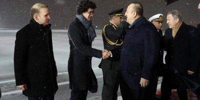 Dışişleri Bakanı Çavuşoğlu ve Milli Savunma Bakanı Akar, Moskova'da