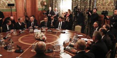 Türk Heyeti ve Rus Heyeti Libya için toplandı