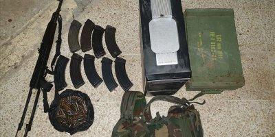 Tel Abyad'da düzenlenen operasyonda 4 terörist ele geçirildi