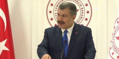 Sağlık Bakanı Koca'dan 'koronavirüs' açıklaması