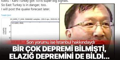 Deprem Kahini Dyson Lin, Elazığ depremini bilmişti şimdi İstanbul hakkında konuştu!