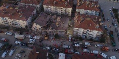 AFAD,deprem bölgesindeki son durumu açıkladı