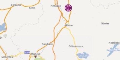Manisa yine sallandı! 4.1 şiddetinde deprem