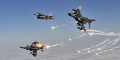 Hava kuvvetlerinden nokta atışı! 6 terörist etkisiz hale getirildi