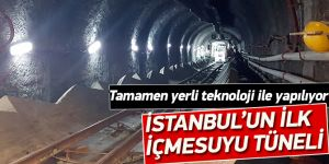 İstanbul'un ilk içmesuyu tüneli