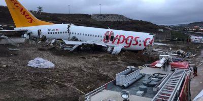 Uçak kazasında kaptan pilotun ifadesi alındı