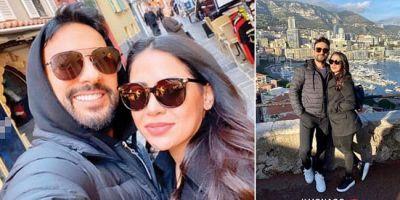 Tarkan ve eşi Pınar Tevetoğlu Monako'da aşk tazeledi