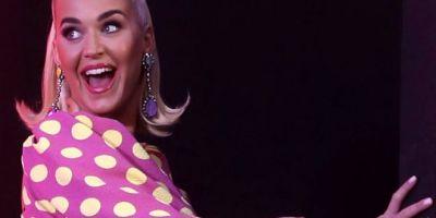 Katy Perry, program çekiminde birden yer yığıldı