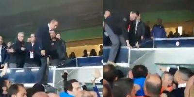 Fenerlilerden protesto gelince, Ali Koç tribünden atladı! Perde arkası ise...