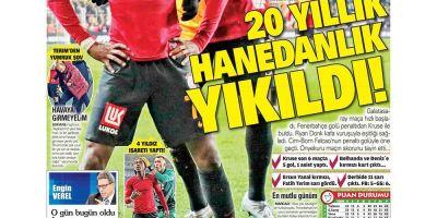 İşte 24 Şubat günün spor manşetleri! Haftanın önemli spor gelişmeleri