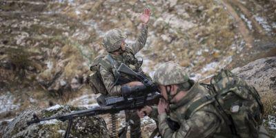 Barış Kalkanı Harekatı bölgesindeki teröristlere darbe