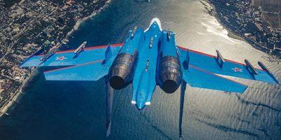 Rusya Savunma Bakanlığı açıkladı: Rus Su-27 uçağı Karadeniz'de düştü