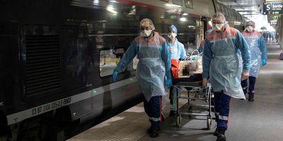 Fransa'da koronavirüs nedeniyle ölenlerin sayısında artış!