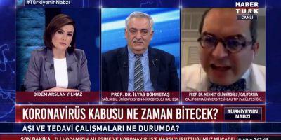 Habertürk canlı yayınında ortalık karıştı! Mehmet Çilingiroğlu canlı yayını terk etti