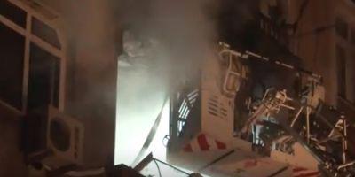 İstanbul'da doğalgaz patlaması! 4 kişi yaralandı