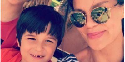 Ebru Şallı oğlu Pars'ın mezarına ziyarete gitti