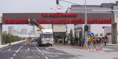 Başakşehir Çam ve Sakura Şehir Hastanesi bugün tam kapasiteyle açılacak