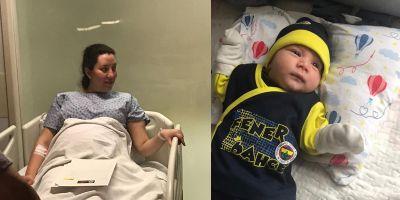 Dilek hemşireden acı haber! Bebeğini hiç kucağına alamadan hayatını kaybetti