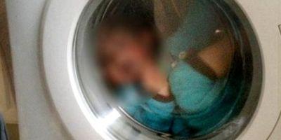 Japonya'da 3 yaşındaki oğlunu çamaşır makinesine kilitleyen baba tutuklandı