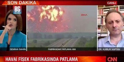 Sakarya'daki havai fişek fabrikası bomba gibi patladı