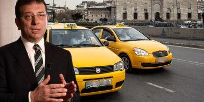 İmamoğlu'na büyük şok! 6 bin taksi teklifi UKOME'de kabul edilmedi