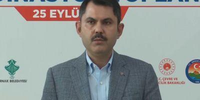Çevre ve Şehircilik Bakanı Murat Kurum: 'Enkaz altındakiler için çalışmalar başladı'
