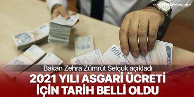 Bakan Zehra Zümrüt, asgari ücret zammı için konuştu: İlk toplantı 4 Aralık'ta