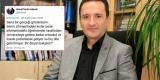 Profesörün skandal tweetine enteresan savunma: 'R' yerine 'T' yazmışım