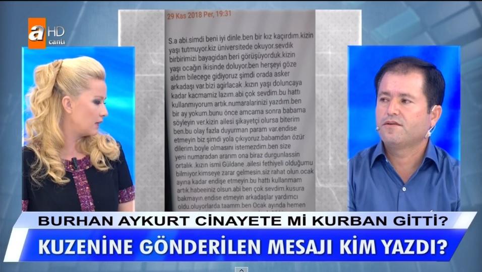 Müge Anlı'da Burhan Aykurt'un başına gelenlerden Mahmut Aykurt'mu sorumlu?