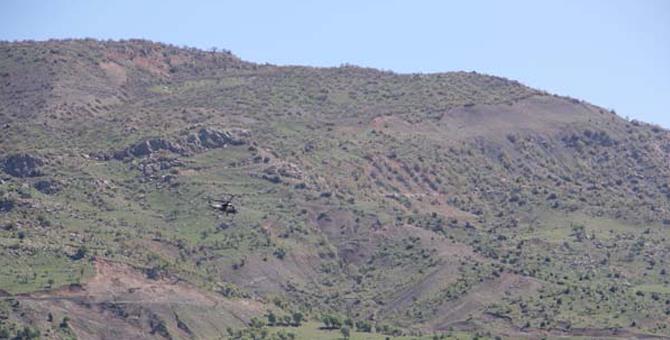 Şırnak'ta Askerlerin Şehit Düştüğü Bölgede Operasyon Başladı