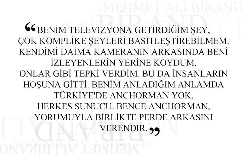 Mehmet Ali Birand Kimdir? | Ne Zaman öldü?